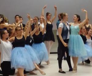 Ballettaufführung des Hochschulsports