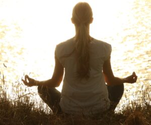 Meditation zum Stressabbau