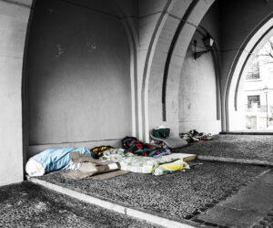 Unterstützung für Wohnungslose