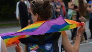 Erste deutsche LGBTQ+ Demo in Münster