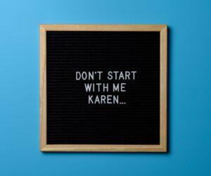 Das Karen Meme