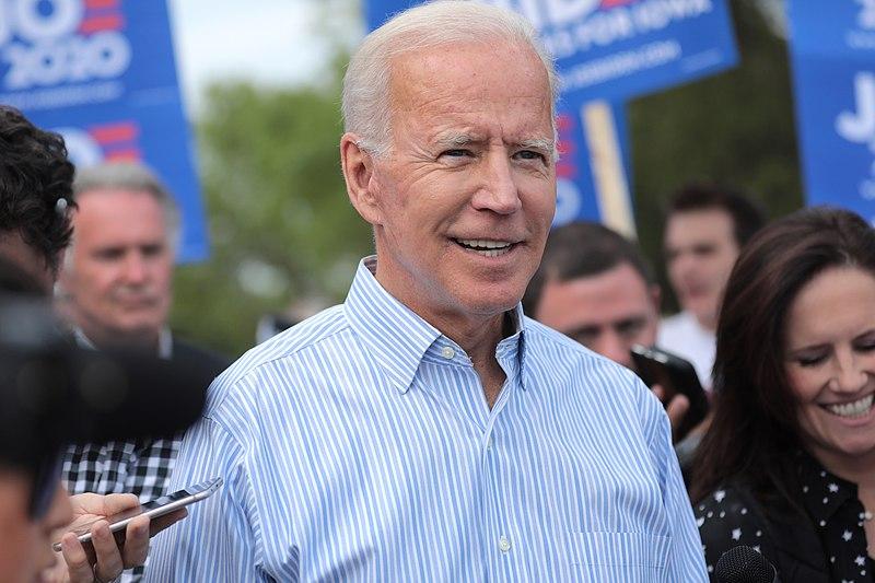 Joe Biden bei einer Kampagne