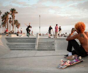 Skaten für die Gemeinschaft